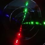 光のトンネル像