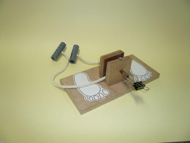 人力湯沸し器の写真