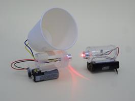 LED音声光通信機